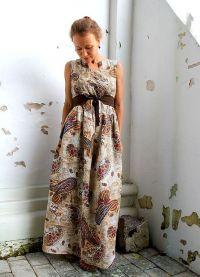 платье из льна в стиле бохо3