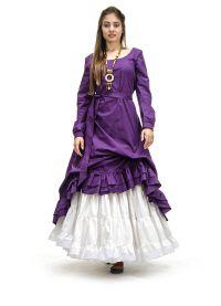 платье из льна в стиле бохо4