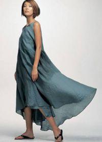 платье из льна в стиле бохо5