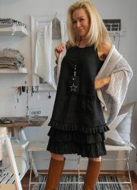 платье из льна в стиле бохо9