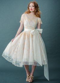 платье в стиле нью лук 2