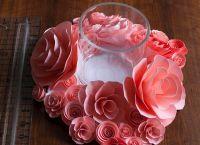 цветы из акварельной бумаги 10