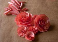цветы из акварельной бумаги 9