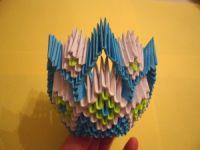 Модульное оригами - конфетница26