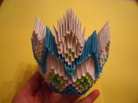 Модульное оригами - конфетница29