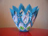 Модульное оригами - конфетница39