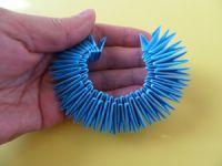 Модульное оригами - конфетница8