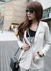 Удлиненный пиджак 5