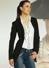 Удлиненный пиджак 8