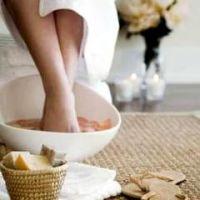 Ванночки для ног от запаха