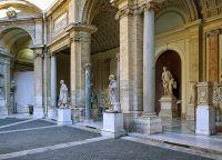 Внутренний дворик Бельведерского дворца