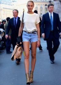 Женские джинсовые шорты 2013 2