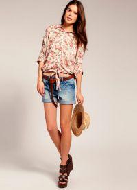 Женские джинсовые шорты 2013 3