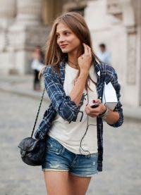 Женские джинсовые шорты 2013 4