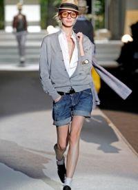 Женские джинсовые шорты 2013 6