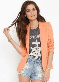 Женские джинсовые шорты 2013 8