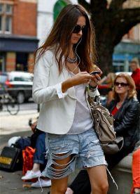 Женские джинсовые шорты 2013 9