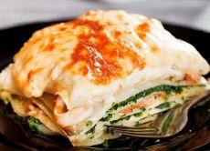 Лазанья с рыбой рецепт