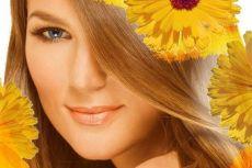 окраска волос медом