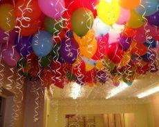 Как украсить день рождения