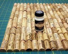 как сделать коврик из пробок