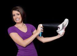 Как вывести запах кошачьей мочи из обуви1