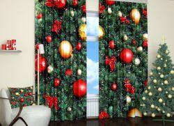 ткань новогодняя для штор