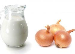 молоко с луком от кашля