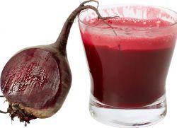 свекольный сок польза и вред для печени