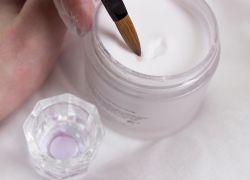 акриловая пудра для ногтей как пользоваться