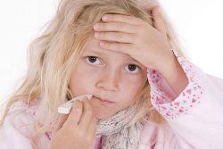 сколько дней температура при гриппе у ребенка