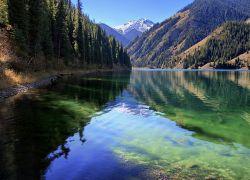 голубые озера казахстана отдых дикарями