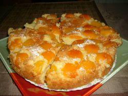 Абрикосовый пирог на кефире