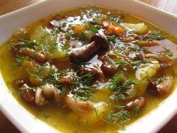 Как сварить грибной суп из замороженных белых грибов в мультиварке