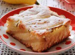 грушевый пирог простой рецепт с фото