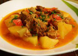 Рецепт: Шашлык в рукаве (из свинины) на m 93