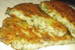 Ленивые хачапури с сыром на сковороде