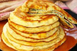Быстрые хачапури с сыром на сковороде – рецепт