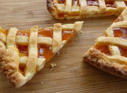 рецепт писочного пирога с абрикосовым вареньем