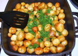 Как приготовить картошку с корочкой