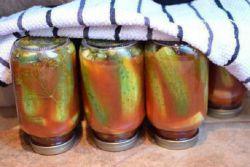 Заготовки на зиму острые огурцы в томате