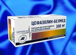 Цефазолин антибиотик