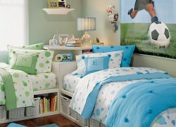Интерьер детской комнаты для двоих детей фото 13 м2 - Pinterest 25