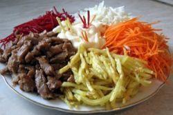 рецепт салат французский с фото