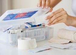 Готовая аптечка для новорожденного