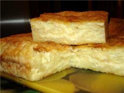 хачапури с сыром и творогом рецепт с фото из слоеного теста фото