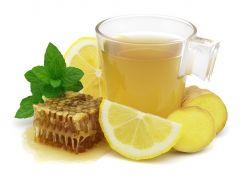 имбирь мед лимон для иммунитета