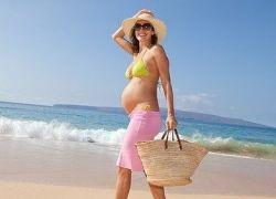 загорать при беременности