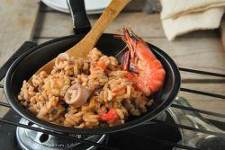 как готовить ризотто с морепродуктами
