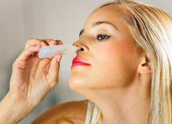 Капли в нос против аллергии